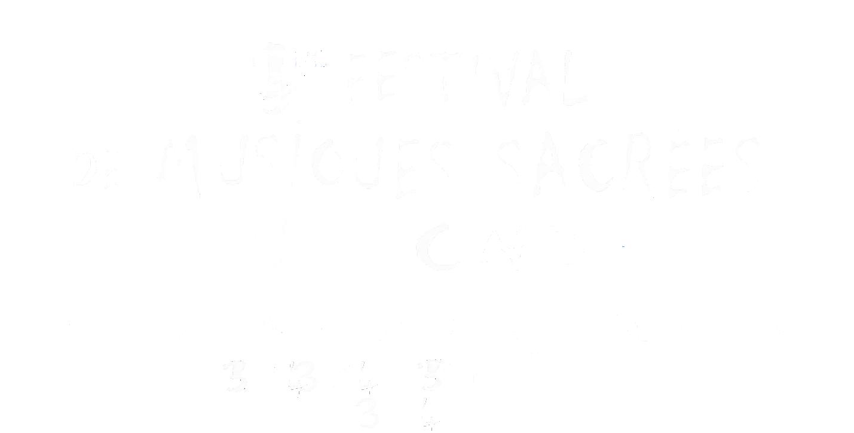 Festival musique sacrée